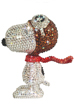 UDF CRYSTAL DECORATE SNOOPY SNOOPY THE FLYING ACE