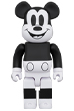 BE@RBRICK MICKEY MOUSE (B&W 2020 Ver.)1000%