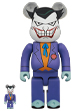 BE@RBRICK THE JOKER (BATMAN The Animated Series Ver.) 100% & 400%