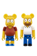 BE@RBRICK THE SIMPSONS<br> BART SIMPSON/HOMER SIMPSON<br>